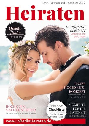 Magazin Heiraten für Berlin & Brandenburg