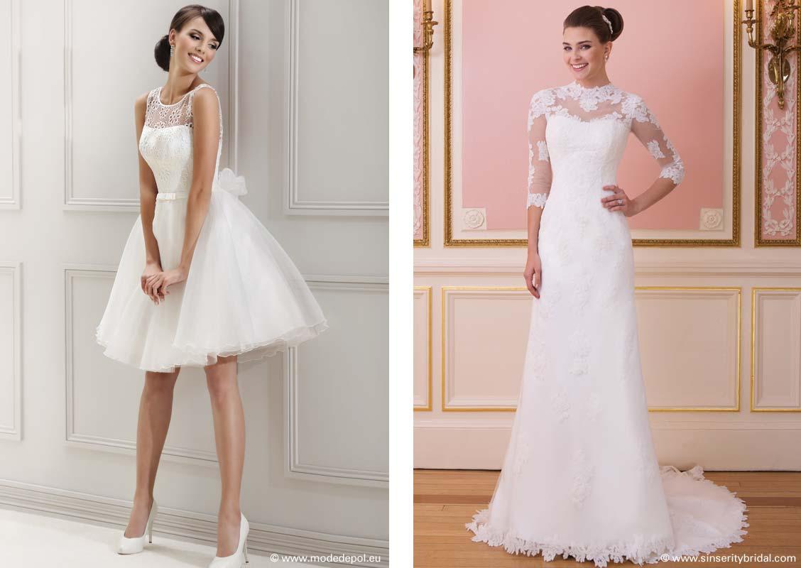 big sale 5e5e1 afc8f Brautkleider Typen – Tipps und Inspirationen zum Brautkleid ...
