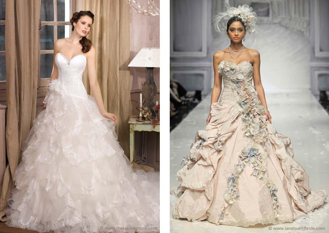 Brautkleider Typen – Tipps und Inspirationen zum Brautkleid-Kauf